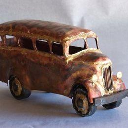 vintage omnibus front view