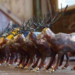 herd of reindeer on my workshop table