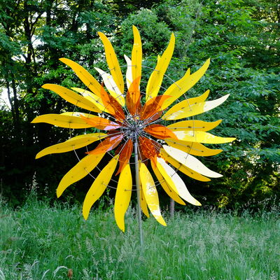yellow sunflower-orange centre