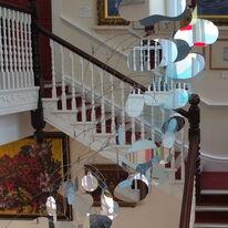cascade mobile, Falmouth Art Gallery