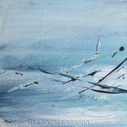 Sea calls; Blue distant light