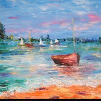 Sailing boats,south coast