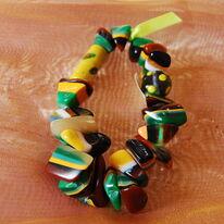 Resin Bracelet Bright Autumn