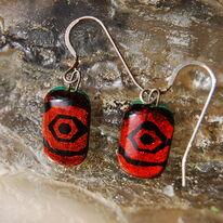 Glass Earrings Maya