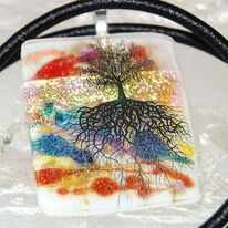 Tree of Life Pendant Golden Slumber