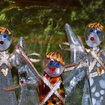 Standing Christmas Angels
