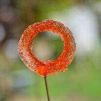 Orange Pom Pom
