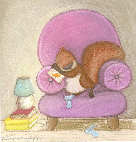 Dozy Squirrel