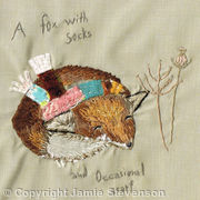 A Fox In Socks... And Occasional Scarf