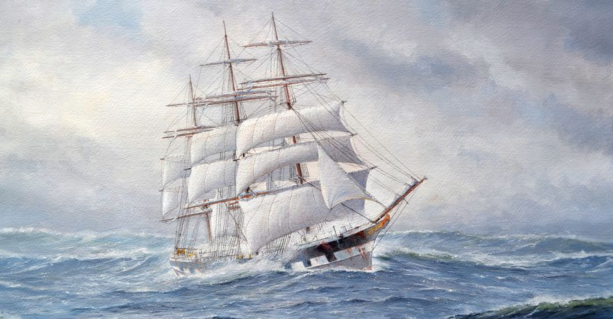 Marine Paintings by B Booth