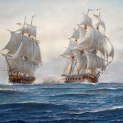 Naval Action between Frigates