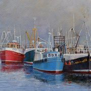 Highland Fishing Boats