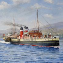 Clyde Paddle Steamer