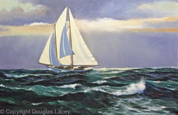 The schooner 'DAUNTLESS'