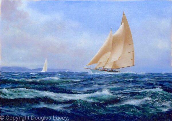 DAUNTLESS sailing free