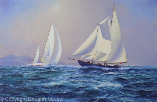 Yachts of the coast