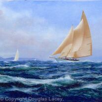 DAUNTLESS sailing free