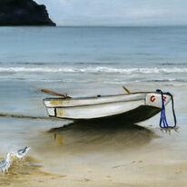 Boat at Carne Beach