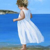 Child on Beach -