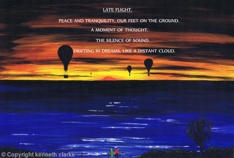 Late Flight-Poem.