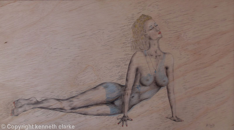 Illusion On Wood.