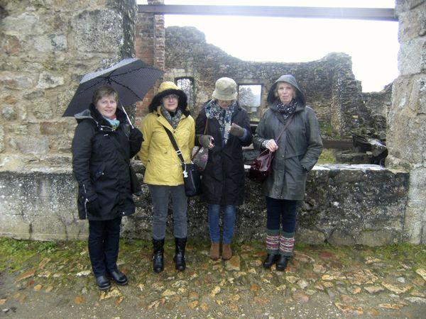 visiting Oradour Sur Glane