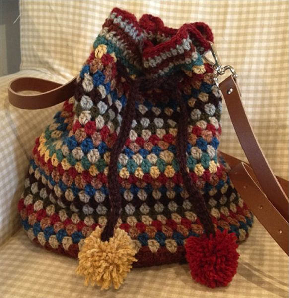 crochet slouch bag february workshop 2016