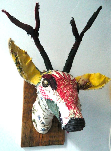 textile taxidermy workshop