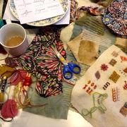 folk art stitchery
