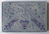 Tile - Peacocks with Tree of Life