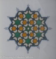 Persian Geometric Pattern