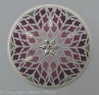 Illuminated Rose Window - Fritillaria