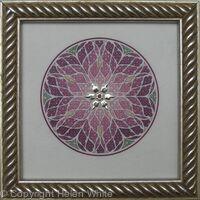Miniature Illuminated Rose Window - Fritillaria