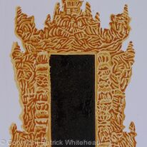 Monastery Door, Mandalay