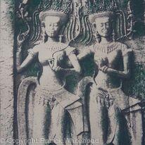 Dancing Apsaras, Ankor