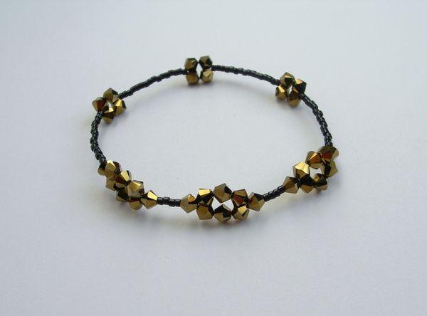 Mandorla Bracelet  Swarovski Crystal