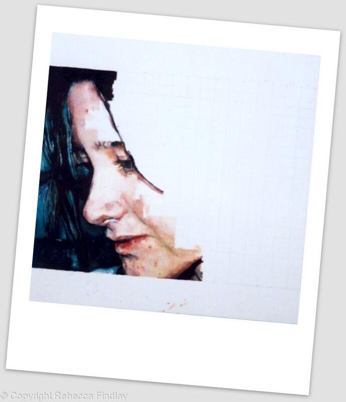 Self portrait study, 2002