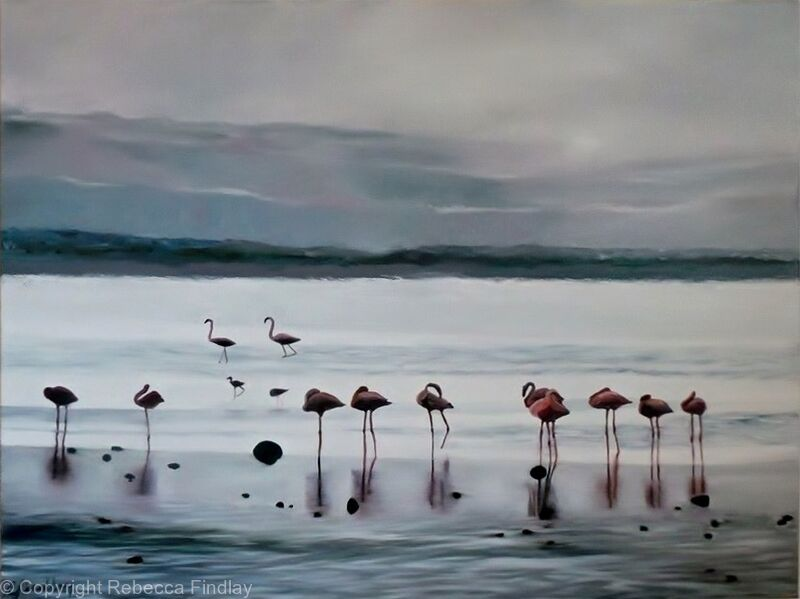 Flamingoes II