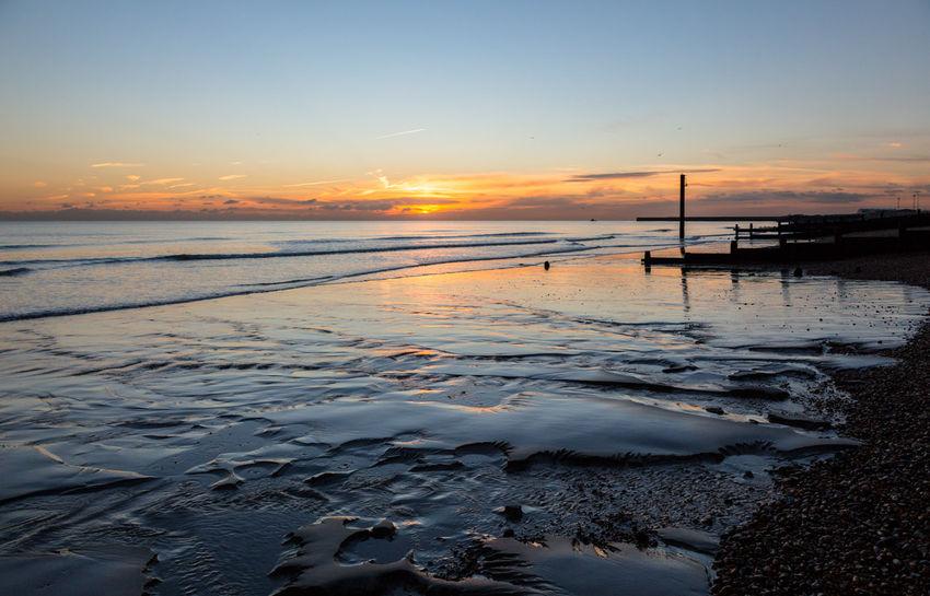 Shoreham foreshore sunset