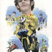 Tribute poster Valentino Rossi
