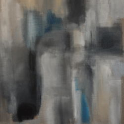 untitled grey with blue #3