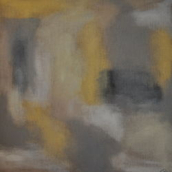 untitled grey with yellow #3
