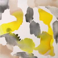 yellow, black and nude bleed