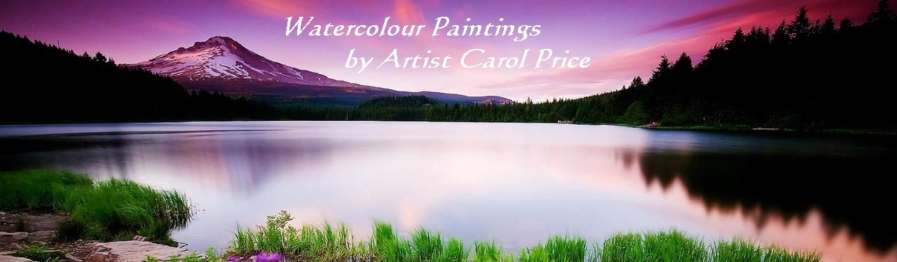 CAROL PRICE-Watercolour Paintings and Limited Edition Prints