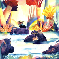 Hippos by Nick Orsborn RI