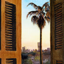 Late Afternoon, Yaffo (detail)