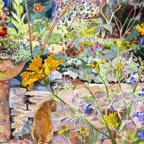 Marigolds and Tigger