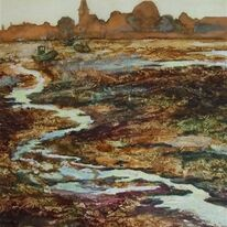 High and Dry, Bosham by Krysia Drury