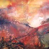Sunset at Butts Brow by Sonya Tatham