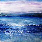 Electricity -Winter Sea